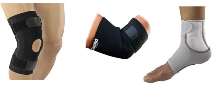 Soft Goods Ankle & Knee Brace Photo Banner